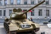 T-34 85 tank — Stock Photo