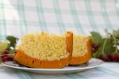 Dairy millet porridge baked in  pumpkin — Stock Photo