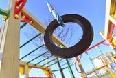Childrens sports complex outdoors — Foto de Stock