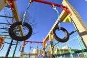 Childrens sports complex outdoors — ストック写真