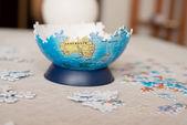 Parte del mundo de puzzle — Foto de Stock