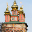 Church in the Trinity Sergius Lavra in Sergiev Posad. Russian Federation — Stock Photo #69205835