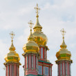 Church in the Trinity Sergius Lavra in Sergiev Posad. Russian Federation — Stock Photo #69205927