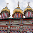 Church in the Trinity Sergius Lavra in Sergiev Posad. Russian Federation — Stock Photo #69205947