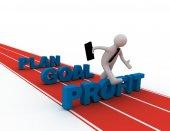 Succes concept — Stockfoto