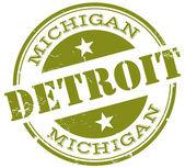 Pieczęć Detroit — Wektor stockowy