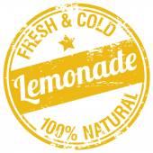 Sello de limonada fresca — Vector de stock