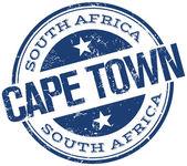 Timbre de Cape town — Vecteur