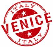 Venice stamp — Stock Vector
