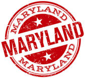 Maryland stamp — Stock Vector