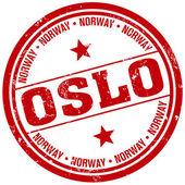 Oslo stamp — Stock Vector