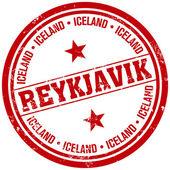 Reykjavik stamp — Stock Vector