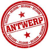 Antwerp stamp — Stock Vector
