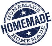 Homemade stamp — Stock Vector