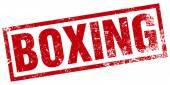 ボクシング スタンプ — ストックベクタ