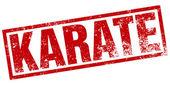 Karate razítko — Stock vektor