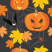 Happy Halloween. Seamless background for design — Stock Vector