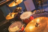 Percussion musical instruments. — Stock Photo