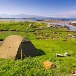 ������, ������: Camping in beautiful scenery