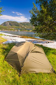 Wild outdoor camp — Stockfoto