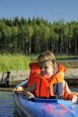 Ready to paddle — Stockfoto