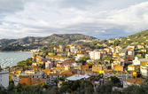 Aerial view of Lerici — Stock Photo