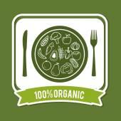 Organic product — Stock Vector