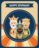 Happy epiphany — Stock Vector