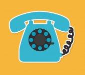 Telephone design — Stock Vector