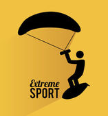 Extreme sport design — Stock Vector