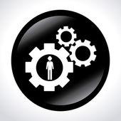 Progettazione di business — Vettoriale Stock