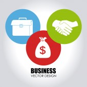 Business design — Stock Vector