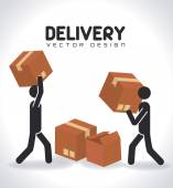 Delivery design — Wektor stockowy