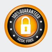 Progettazione sicurezza — Vettoriale Stock