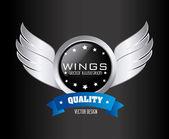 Vleugels ontwerp — Stockvector