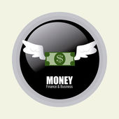 Progettazione di soldi — Vettoriale Stock