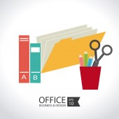 Ofis tasarım — Stok Vektör