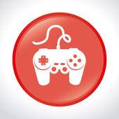 Videogames design — Vettoriale Stock