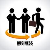 Business design — Vettoriale Stock