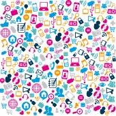 Teknoloji tasarım — Stok Vektör