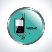 技術デザイン — ストックベクタ