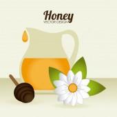 Honey design — Stock Vector
