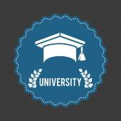 University design — Vector de stock