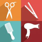 Salon design  — Stock Vector