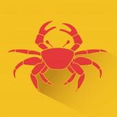 Beach icon — Stock Vector