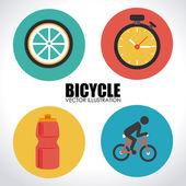 Bike design — Stock Vector