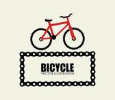 Projeto da bicicleta — Vetor de Stock