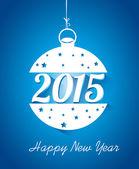 Progettazione del nuovo anno — Vettoriale Stock
