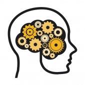 Think design  — Stock Vector