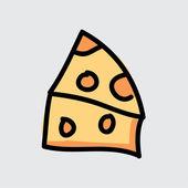 Sýr vektor — Stock vektor